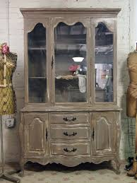 old china cabinet into rustic chic one so want to do this for