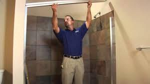 Basco Shower Door Diy Framed Shower Door Installation Basco Deluxe 6150 7150 How