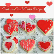 valentines day cookies haniela s simple decorated s day cookies