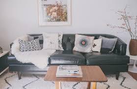 Black Sofa Pillows by Chez Victoria Smith Of Sfgirlbybay Victoria Smith Victoria