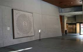 Pacific Decorative Concrete J Paul Getty Museum Vertical Concrete Decorative Concrete