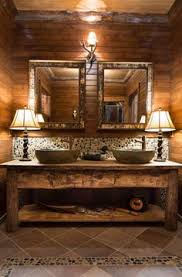 Country Rustic Bathroom Ideas Fire Up The Oil Lantern And Take A Look At These Ideas To Infuse A