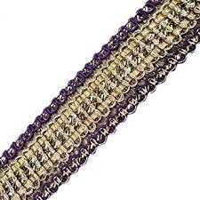 gold lace ribbon buy metallic gold lace trim braid ribbon for weddinng bridal home
