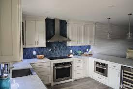 gray glazed white kitchen cabinets shaker ii maple bright white brushed gray glaze framed