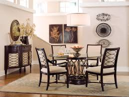 Jessica Mcclintock Dining Room Furniture Pedestal Glass Top Dining Room Table Glass Top Dining Table With