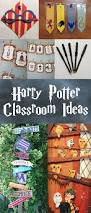 11 harry potter themed classroom decorations and crafts on the