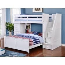 Harriet Bee Danelle Twin Over Full LShaped Bunk Bed Wayfair - L bunk bed