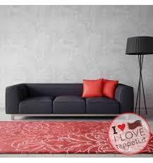 tappeti wissenbach tappeto moderno exposure wissenbach rosso stile floreale fatto