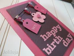 Homemade Card Ideas by We U Cute Birthday Card Idea By Lisa Joliluja Wordpress