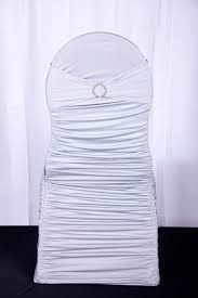 Silver Chair Covers Ruche Chair Covers U2014 Classic Chair Covers