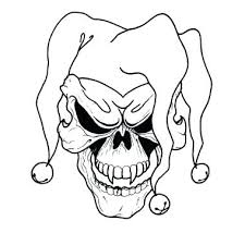 coloring pages to print for awesome printable clown