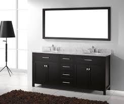 84 Inch Double Sink Bathroom Vanity Caroline 72x22 Double Sink Bathroom Vanity In Espresso On Sale