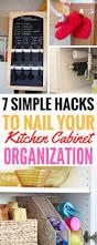 Kitchen Cabinet Organization Best 25 Kitchen Organization Ideas On Pinterest Storage