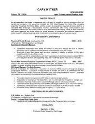 Real Estate Job Description For Resume by Realtor Resume Resume Cv Cover Letter