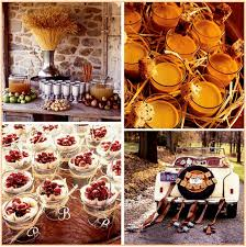 fall theme ideas with vintage wedding decorations decorating of