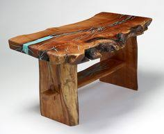 Wood Trunk Coffee Table Black Walnut Coffee Table Live Edge For The Home Pinterest