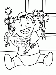 for my mom mother u0027s day coloring page for kids coloring pages