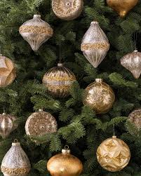 gold christmas set of 35 silver and gold ornaments balsam hill