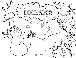 december coloring pages u2013 2017 calendars