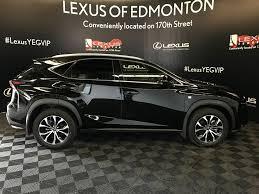 black lexus 2016 used 2016 lexus nx 200t 4 door sport utility in edmonton ab ld12586