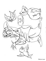 goblin coloring page free download