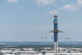 How Many Flags Flew Over Texas Texas Skyscreamer Six Flags Over Texas