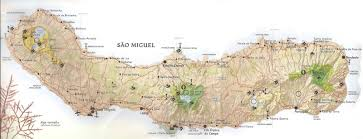 Azores Map Colourfulworld Azores Lagoa Do Fogo Delicious Food And