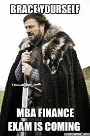 Mba Meme - finance is coming