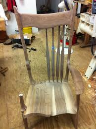 Childrens Wooden Rocking Chairs Sale From The Chair Man Progress Report On The Maloof Inspired Rocker