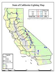 blm lightning map california lightning activity