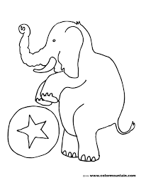 elephant coloring sheet create a printout or activity