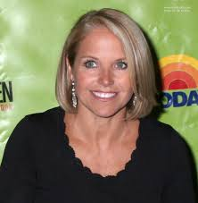 hairstyles of katie couric katie couric wearing her hair in a blunt cut bob