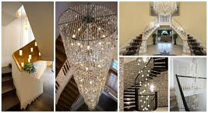 House Chandelier 12 Brilliant Staircase Chandelier For Glamorous House Bright