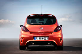 opel corsa opc opel reveals new photos with the corsa opc nurburgring edition