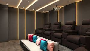 Home Theatre Interior Design by 3d Home Theatre And Bar Cgtrader