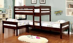 Espresso Twin Over Twin Twin Bunk Bed  Bed In - Espresso bunk bed