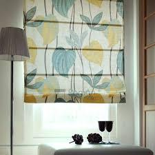 Multi Color Curtains Multi Color Leaf Linen Shade Curtains