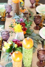 thanksgiving table ideas inspired by color celebrations at home