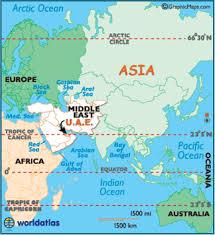 map of the uae united arab emirates map geography of united arab emirates map