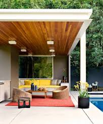Lighting For Patios 21 Stunning Midcentury Patio Designs For Outdoor Spaces Modern