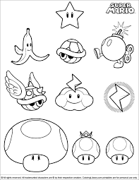 new super mario bros coloring pages to print murderthestout