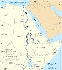 Nile River On Map File Nile En Svg Wikimedia Commons