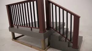 Contemporary Banisters And Handrails Timbertech Evolutions Rail Contemporary With Composite Balusters