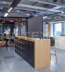 autex acoustics cube havas media london uk colours empire