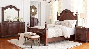 shop for affordable dark wood king bedroom sets at rooms to go