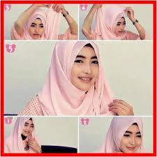 tutorial jilbab remaja yang simple cara memakai jilbab pashmina simple kreasi terbaru bacaterusnet