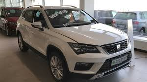 seat ateca interior seat ateca xcellence new model 2017 nevada white colour