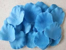 Silk Rose Petals 500 Turquoise Blue Silk Rose Petals My Wedding Store