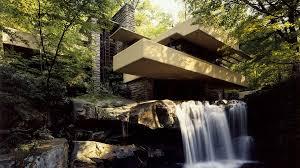 Ex Machina Waterfall Frank Lloyd Wright Architecture Wallpaper Album On Imgur