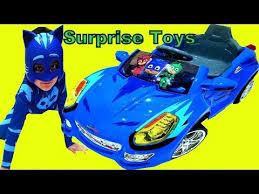 pj masks cat car 6 volt ride blue power wheel car